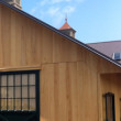vertical grain cypress siding