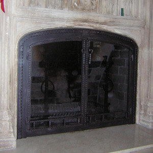 2 Arched Blacksmith Custom 20s Mantle After