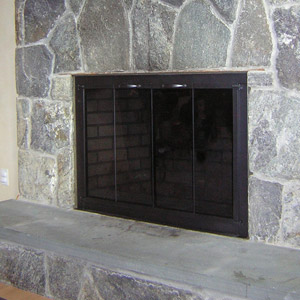 Clearview in Charcoal with Designer Handles After