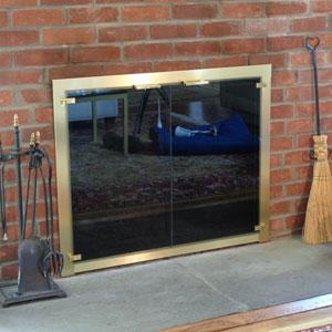 Bar Stock Cabinet Doors Satin Brass After
