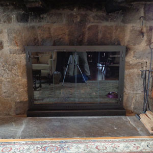 Original Iron with Hearth Box After