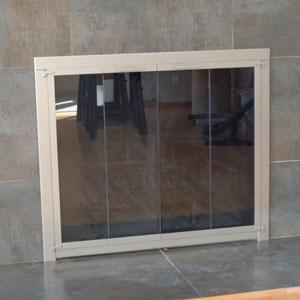 Original Steel Frame in Charcoal After