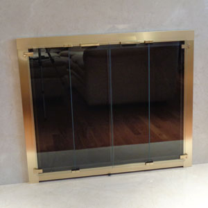 Totalview Bifold in Satin Brass After