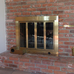 Bar Stock with Air Seal Antique Brass Before