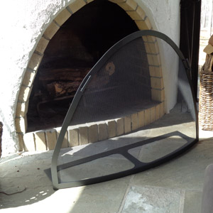 Custom Convex Arch Screen Before