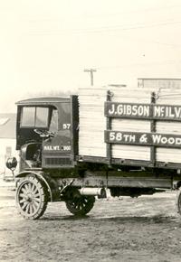 1925 McIlvain lumber truck