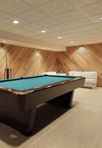 carpeting as basement flooring option