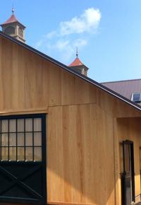 vertical grain cypress siding