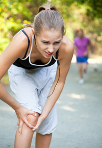 knee injury after jogging