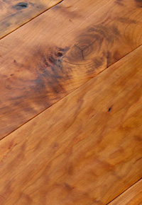 Rehmeyer Legacy Collection: Hand Scraped Rustic Cherry with Foot Worn Edges