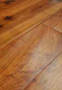 Rehmeyer Legacy Collection: Walnut Hand Scraped Foor Worn Hardwood Flooring