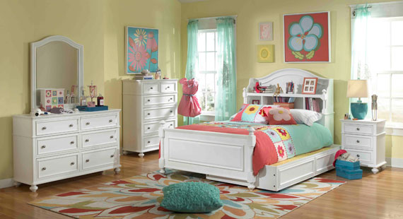 madison bookcase bed for girls