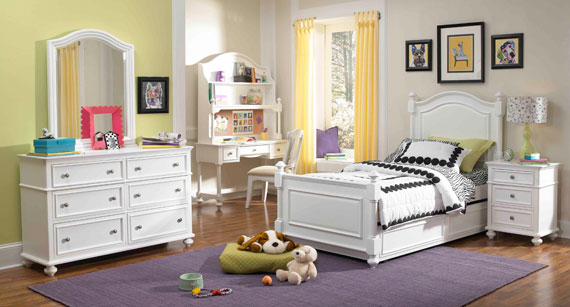 madison desk and hutch for girls