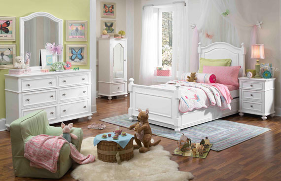 madison dresser with mirror for girls