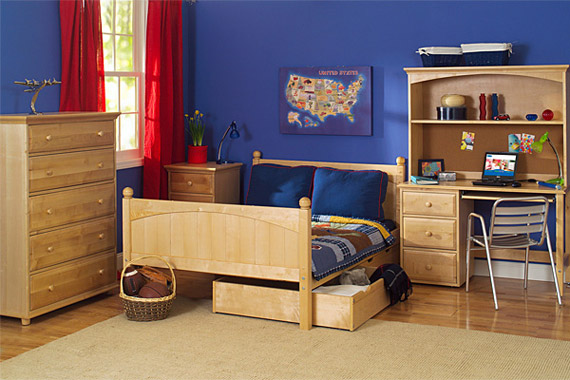 boys maxtrix full bed bedroom collection