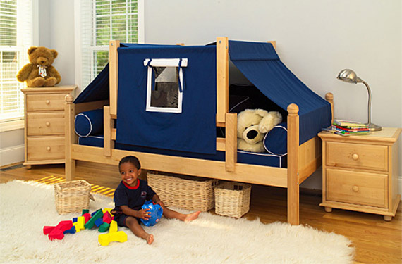 tent toddler bed by maxtrix for boys