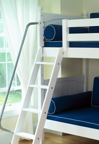 maxtrix strong bunk ladder with safety rail