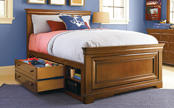 classics 4.0 brown panel bed