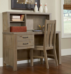 Seaview Collection desk & hutch