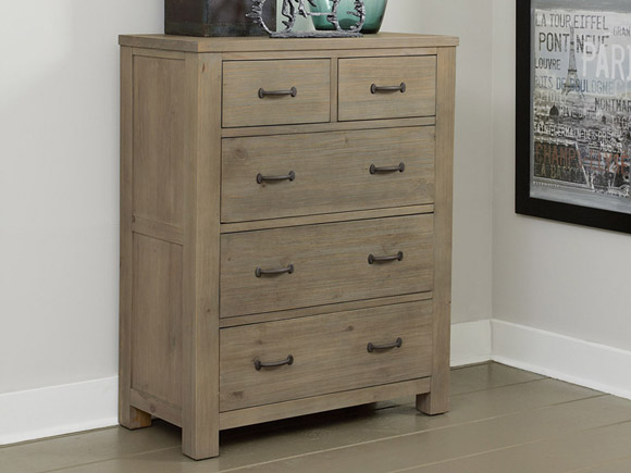 Seaview Collection five drawer chest