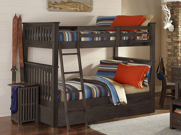 Seaview Collection twin over twin bunk bed