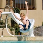 Our Favorite Pool Waterslides for Little Ones