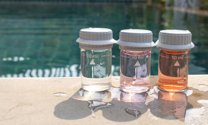 pool water samples