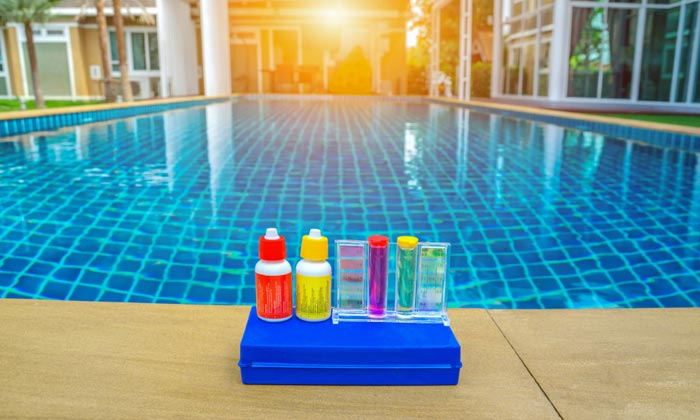 pool chemical water testing