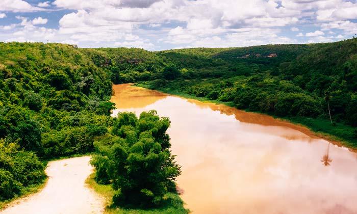 dominican republic muddy river